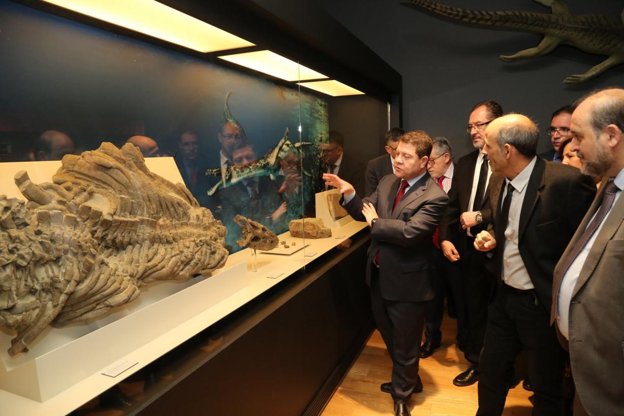 Inauguración del Museo Paleontológico de Castilla-La Mancha (MUPA)